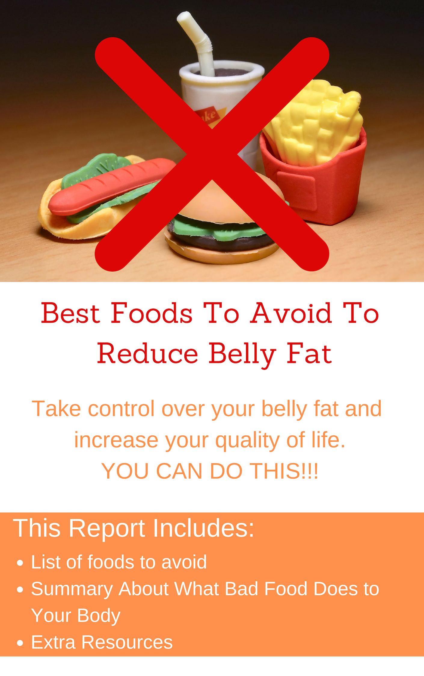 Best Foods To Avoid To Reduce Bbely Fat