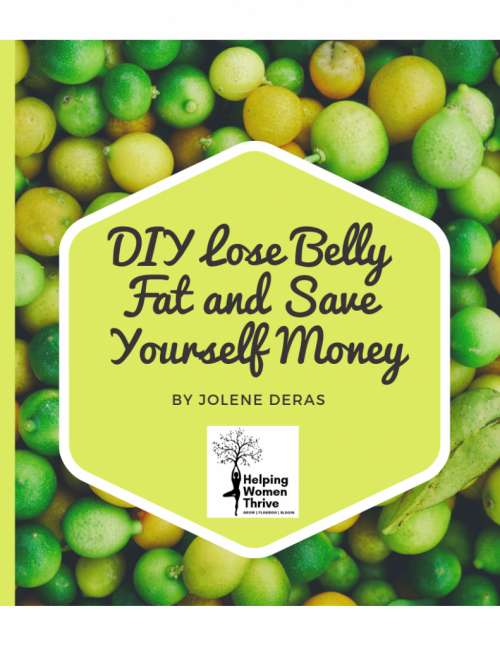 DIY Lose Belly Fat and Save Yourself Money