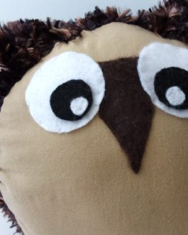ScribbleBelly Owl Fuzzy – Keepsake Stuffed Animal