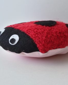 ScribbleBelly Ladybug Red- Keepsake Stuffed Animal