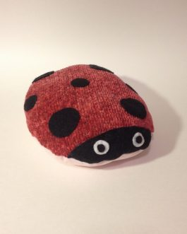 ScribbleBelly Ladybug Pink- Keepsake Stuffed Animal