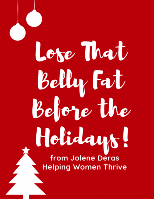 Lose That Belly Fat Before the Holidays (1)