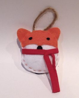 Christmas Tree Ornament Fox