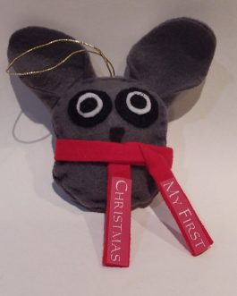 """My First Christmas"" Ornament Bush Baby"